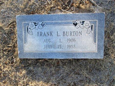 BURTON, FRANK L. - McLennan County, Texas | FRANK L. BURTON - Texas Gravestone Photos