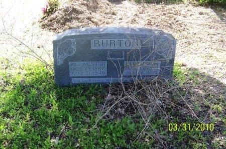 BURTON, FLORENCE M. - McLennan County, Texas | FLORENCE M. BURTON - Texas Gravestone Photos