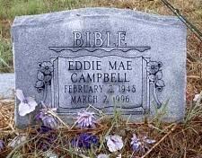 CAMPBELL, EDDIE MAE - McLennan County, Texas | EDDIE MAE CAMPBELL - Texas Gravestone Photos