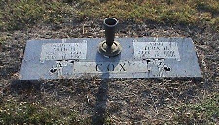 COX, EURA - McLennan County, Texas | EURA COX - Texas Gravestone Photos