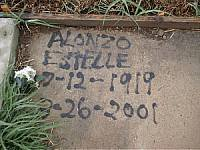 ESTELLE, ALONZO - McLennan County, Texas | ALONZO ESTELLE - Texas Gravestone Photos