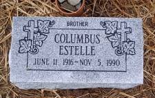 ESTELLE, COLUMBUS - McLennan County, Texas | COLUMBUS ESTELLE - Texas Gravestone Photos