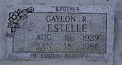 ESTELLE, GAYLON R. - McLennan County, Texas | GAYLON R. ESTELLE - Texas Gravestone Photos