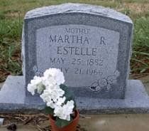 ESTELLE, MARTHA R. - McLennan County, Texas | MARTHA R. ESTELLE - Texas Gravestone Photos