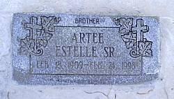 ESTELLE, SR., ARTEE - McLennan County, Texas   ARTEE ESTELLE, SR. - Texas Gravestone Photos