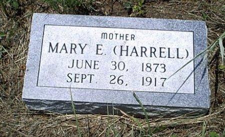 HARRELL FERRELL, MARY E. - McLennan County, Texas   MARY E. HARRELL FERRELL - Texas Gravestone Photos