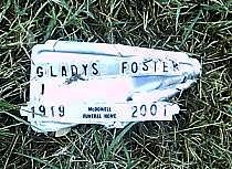 FOSTER, GLADYS - McLennan County, Texas | GLADYS FOSTER - Texas Gravestone Photos