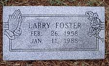 FOSTER, LARRY - McLennan County, Texas | LARRY FOSTER - Texas Gravestone Photos