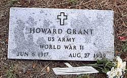 GRANT (VETERAN WWII), HOWARD - McLennan County, Texas   HOWARD GRANT (VETERAN WWII) - Texas Gravestone Photos