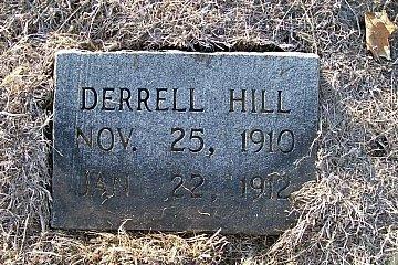 HILL, DERRELL - McLennan County, Texas   DERRELL HILL - Texas Gravestone Photos