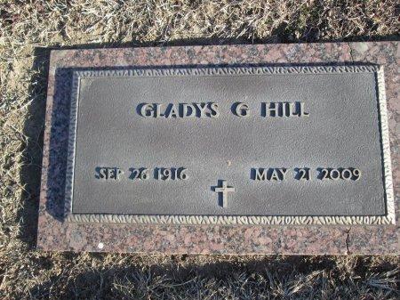 HILL, GLADYS G. - McLennan County, Texas   GLADYS G. HILL - Texas Gravestone Photos