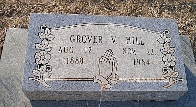 HILL, GROVER VERNON - McLennan County, Texas | GROVER VERNON HILL - Texas Gravestone Photos