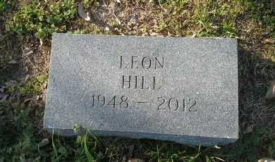 HILL, LEON - McLennan County, Texas   LEON HILL - Texas Gravestone Photos