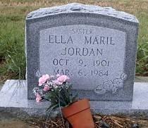 JORDAN, ELLA MARIL - McLennan County, Texas | ELLA MARIL JORDAN - Texas Gravestone Photos