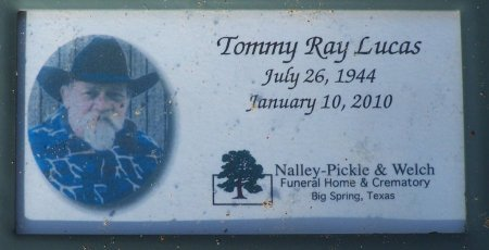 LUCAS, TOMMY RAY - McLennan County, Texas   TOMMY RAY LUCAS - Texas Gravestone Photos