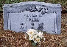 PRICE, ELEANOR E. - McLennan County, Texas | ELEANOR E. PRICE - Texas Gravestone Photos
