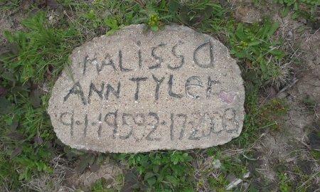 TYLER, MALISSA ANN (MEMORIAL STONE) - McLennan County, Texas | MALISSA ANN (MEMORIAL STONE) TYLER - Texas Gravestone Photos