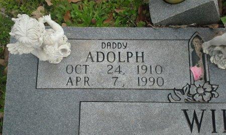 WILEY, ADOLPH (CLOSEUP) - McLennan County, Texas   ADOLPH (CLOSEUP) WILEY - Texas Gravestone Photos