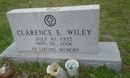 WILEY, CLARENCE E. - McLennan County, Texas   CLARENCE E. WILEY - Texas Gravestone Photos