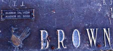 BROWN, T J - Midland County, Texas | T J BROWN - Texas Gravestone Photos