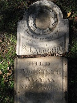 ALDERSON, S. H. - Milam County, Texas | S. H. ALDERSON - Texas Gravestone Photos