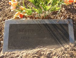 BARKER, ARTHUR WILLARD - Milam County, Texas | ARTHUR WILLARD BARKER - Texas Gravestone Photos