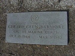 BARMORE (VETERAN), GERALD GLEN - Milam County, Texas | GERALD GLEN BARMORE (VETERAN) - Texas Gravestone Photos