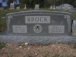 BROCK, LAURA VIOLA - Milam County, Texas | LAURA VIOLA BROCK - Texas Gravestone Photos