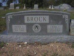 VAUGHAN BROCK, LAURA VIOLA - Milam County, Texas | LAURA VIOLA VAUGHAN BROCK - Texas Gravestone Photos