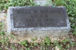 BROCK, WILLIAM ROWLAND - Milam County, Texas | WILLIAM ROWLAND BROCK - Texas Gravestone Photos