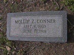 "CONNER, MARY ZIPORAH ""MOLLIE"" - Milam County, Texas   MARY ZIPORAH ""MOLLIE"" CONNER - Texas Gravestone Photos"