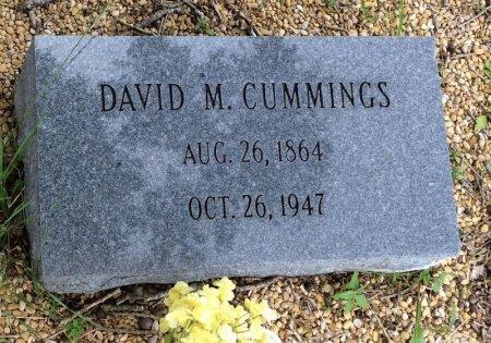 CUMMINGS, DAVID M. - Milam County, Texas   DAVID M. CUMMINGS - Texas Gravestone Photos
