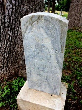 CUMMINGS, ORA MARIE - Milam County, Texas | ORA MARIE CUMMINGS - Texas Gravestone Photos