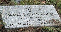 GILLILAND, SR. (VETERAN WWI), JAMES CLEVELAND - Milam County, Texas | JAMES CLEVELAND GILLILAND, SR. (VETERAN WWI) - Texas Gravestone Photos