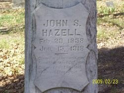 HAZELL, JOHN SAMUEL - Milam County, Texas | JOHN SAMUEL HAZELL - Texas Gravestone Photos