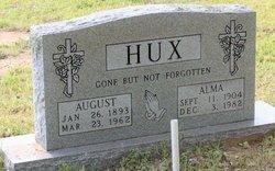 DRAPER HUX, ALMA - Milam County, Texas | ALMA DRAPER HUX - Texas Gravestone Photos