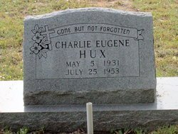 HUX, CHARLIE EUGENE - Milam County, Texas   CHARLIE EUGENE HUX - Texas Gravestone Photos
