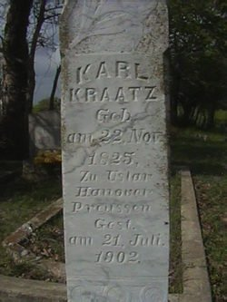 KRAATZ, KARL - Milam County, Texas | KARL KRAATZ - Texas Gravestone Photos