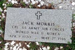 MORRIS (VETERAN  2 WARS), JACK - Milam County, Texas | JACK MORRIS (VETERAN  2 WARS) - Texas Gravestone Photos