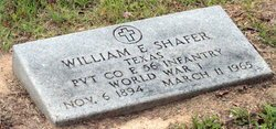 SHAFER (VETERAN WWI), WILLIAM ELIJHA - Milam County, Texas | WILLIAM ELIJHA SHAFER (VETERAN WWI) - Texas Gravestone Photos