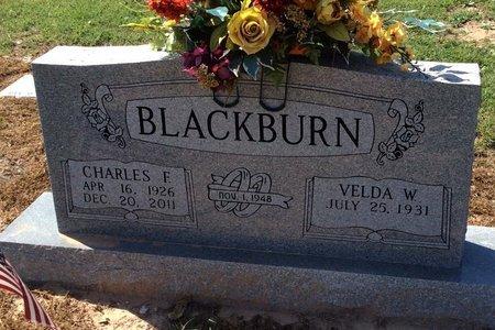 BLACKBURN, CHARLES F. - Mills County, Texas | CHARLES F. BLACKBURN - Texas Gravestone Photos
