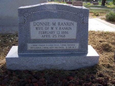 RANKIN, DONNIE MISSOURI - Mitchell County, Texas | DONNIE MISSOURI RANKIN - Texas Gravestone Photos