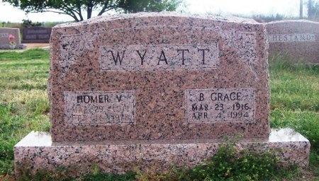 COMPTON WYATT, BETSY GRACE - Mitchell County, Texas   BETSY GRACE COMPTON WYATT - Texas Gravestone Photos