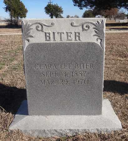 JACKSON BITER, CLARA LEE - Montague County, Texas | CLARA LEE JACKSON BITER - Texas Gravestone Photos