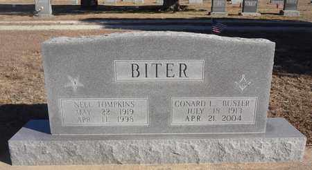 "BITER, CONARD LEE ""BUSTER"" - Montague County, Texas 