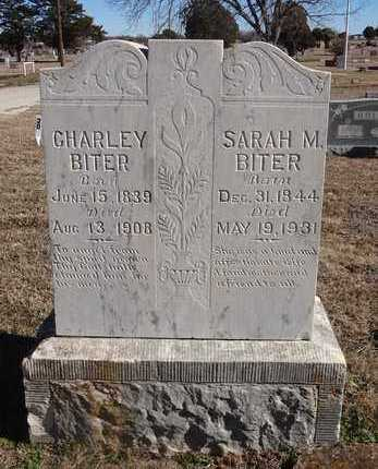 BITER, SARAH MARGARET - Montague County, Texas | SARAH MARGARET BITER - Texas Gravestone Photos