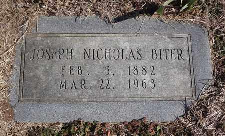 BITER, JOSEPH NICHOLAS - Montague County, Texas | JOSEPH NICHOLAS BITER - Texas Gravestone Photos