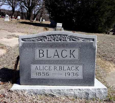 BLACK, ALICE R. - Montague County, Texas | ALICE R. BLACK - Texas Gravestone Photos