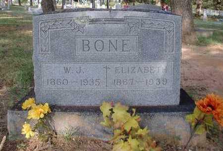 BONE, WILLIAM JASPER - Montague County, Texas | WILLIAM JASPER BONE - Texas Gravestone Photos