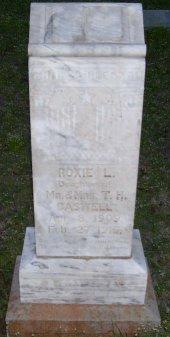 CASWELL, ROXIE L. - Montague County, Texas | ROXIE L. CASWELL - Texas Gravestone Photos